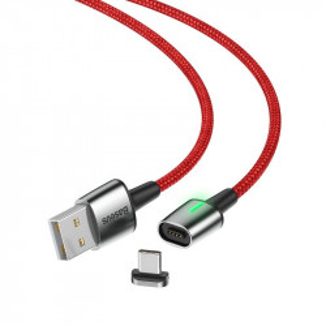 Cablu magnetic USB-C Baseus Zinc 3A 1m (rosu)