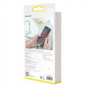 Cablu USB-C - Lightning Baseus Horizontal Power Delivery, dioda LED, 1m (rosu)