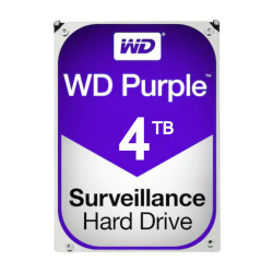 Hard disk 4TB -WD PURPLE