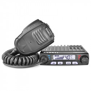 Kit statie radio CB Avanti Supremo *PRO-version* + Antena radio Avanti Cento + Baza magnetica