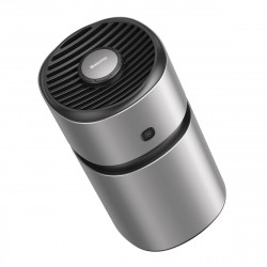 Odorizant auto Baseus Breeze Fan Air cu functie de purificare a formaldehidei (argintiu)