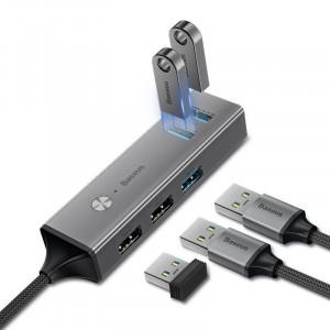 Adaptor HUB Baseus USB-C, 3x USB 3.0 + 2x USB 2.0