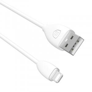 Cablu Baseus Small Pretty Waist USB - Lightning, 2A, 1,2m, alb