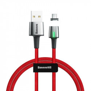 Cablu magnetic USB-C Baseus Zinc 2A 2m (rosu)