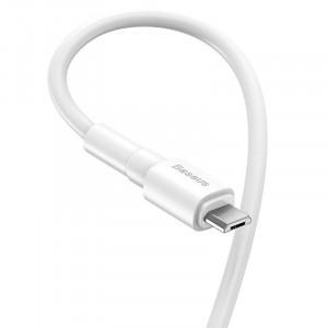 Cablu micro USB Baseus Mini 2.4A 1m (alb)