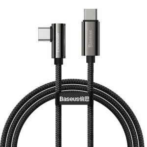 Cablu USB-C la USB-C Baseus Legend Series, 100W, 1m (negru)