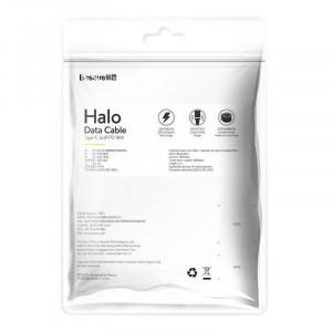 Cablu USB-C - Lightning PD Baseus Halo, Power Delivery, 18W, 1m (negru)