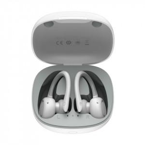 Casti wireless Baseus Encok W17 TWS, Bluetooth 5.0 (alb)