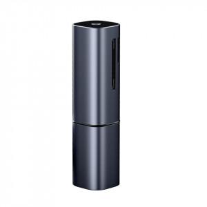 Cititor card de memorie SD/micro SD Baseus Mini-cabin, USB + USB-C, USB 3.0, aluminium (albastru)