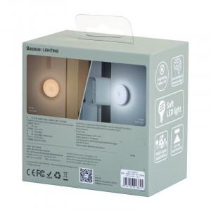 Lampa de veghe Baseus Light Garden Series cu senzor de miscare, cu baterii (lumina alba)