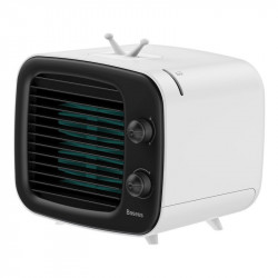 Mini aer conditionat Baseus Time ventilator, umidificator (negru-alb)