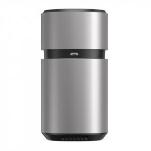 Odorizant auto Baseus Breeze Fan Air cu functie de purificare a formaldehidei, cu baterii (argintiu)