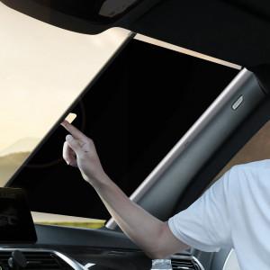Parasolar auto Baseus Close, pentru parbriz, 64cm (argintiu)