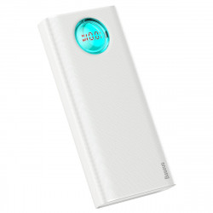 Powerbank Baseus Ambilight, 20000mAh, PD, QC 3.0, 18W (alb)