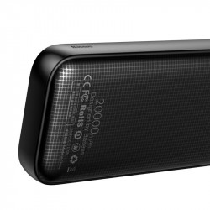 PowerBank Baseus Powerful 20000mAh Quick Charge 3.0 USB Type-C PD - negru
