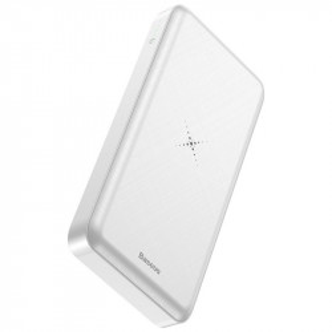 Powerbank cu incarcare wireless Qi Baseus M36 10000mAh (alb)