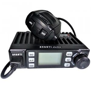Promotie statie radio CB Avanti Delta + antena CB Sirio T3/27 + baza magnetica 145 DV