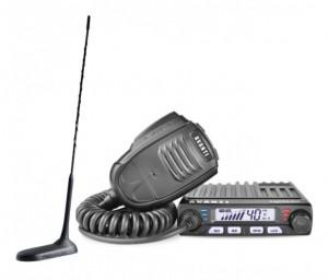 Promotie statie radio CB Avanti Supremo + antena CB President New Virginia