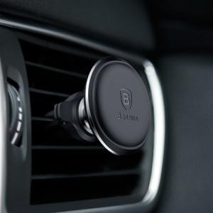 Suport Auto Baseus 360° pentru sistemul de ventilatie, Negru