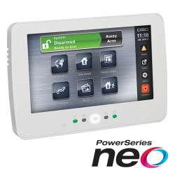 Tastatura touch screen color 7', 128 zone, SERIA NEO - DSC NEO-HS2TCHP