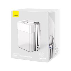 Umidificator Aer cu lumină ambientală Baseus, 550ML, Aromatizare, Alb