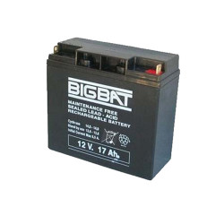 Acumulator BIG BAT 12V, 17 Ah
