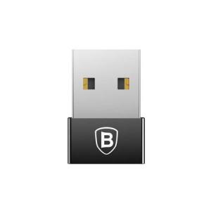 Adaptor USB la Type-C Baseus Exquisite Negru