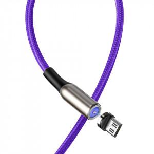 Cablu magnetic micro USB Baseus Zinc 2A 1m (violet)