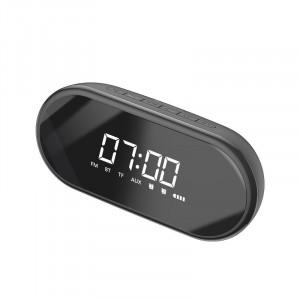 Difuzor Wireless Bluetooth Baseus Encok E09 cu ceas digital (negru)