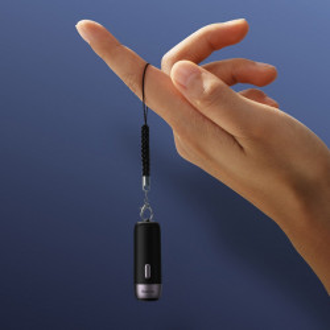 Dispozitiv anti-pierdere Smart Baseus T3 cu snur, Bluetooth (negru)