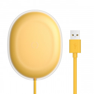Incarcator wireless Baseus Jelly, 15W (galben)