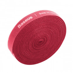 Organizator cabluri Baseus Rainbow Circle Velcro Straps 3m (rosu)