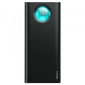 Powerbank 20000mAh cu display Baseus Ambilight 2x USB, QC 3.0, PD (negru)