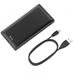 Powerbank Baseus Mini JA 20000mAh 2x USB 3A (negru)