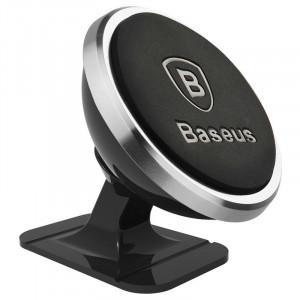 Suport magnetic auto pt telefon Baseus - negru