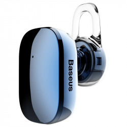 Casca wireless Bluetooth Baseus Encok mini A02 (albastru)