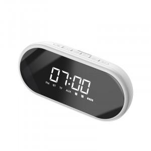 Difuzor Wireless Bluetooth Baseus Encok E09 cu ceas digital (alb)