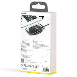 Incarcator wireless Baseus Cobble, 15W (negru)