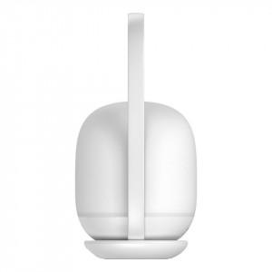 Lampa Baseus Moon, cu incarcare wireless, 30h (alb)
