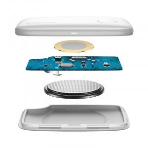 Localizator Bluetooth Baseus T2 cu snur (alb)