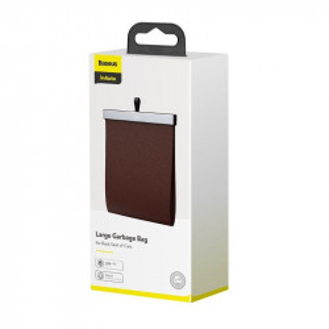 Organizator auto Baseus Large Bag, piele, magnetic (maro)