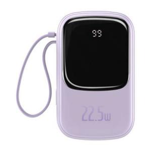 Powerbank Baseus 20000mAh 22.5W cu cablu Type-C, violet