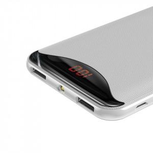Powerbank Baseus Gentleman, 10000mAh, 2x USB, 2.1A (alb)