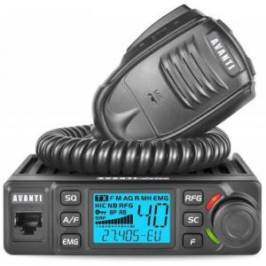 Promotie statie radio CB Avanti Delta + antena CB President New Virginia