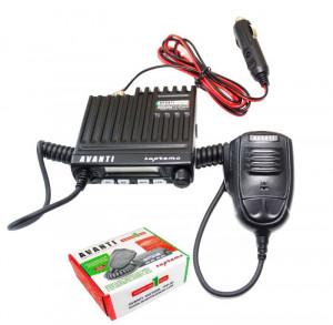 Promotie statie radio CB Avanti Supremo + antena CB Avanti Cento + baza magnetica 145PL