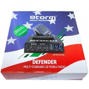 Promotie statie radio CB Storm Defender + antena CB Megawatt ML 145 + baza magnetica