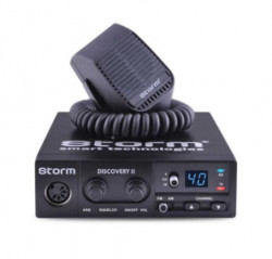 Promotie statie radio CB Storm Discovery + antena CB Storm ML 145 Black + baza magnetica 145 PL