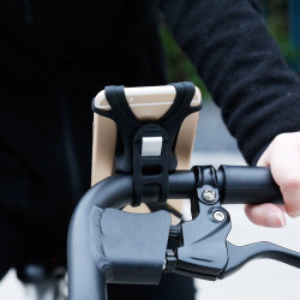 Suport bicicleta Baseus Miracle pt telefon - negru