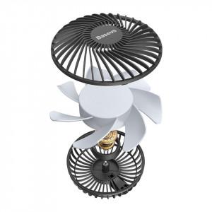 Ventilator auto Baseus Departure pt tetiera (negru)