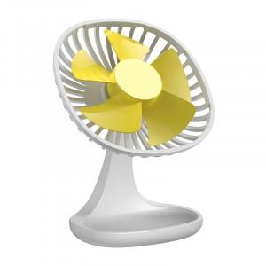 Ventilator de birou Baseus Pudding (alb)